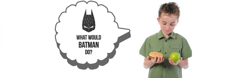 What would Batman eat ?