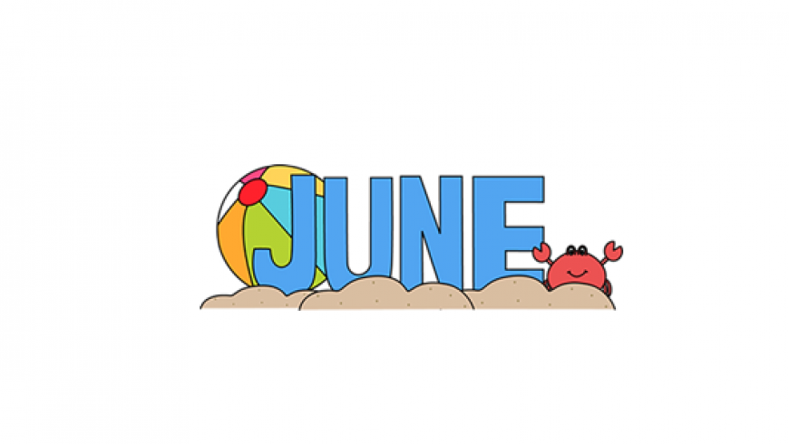 month of june clipart