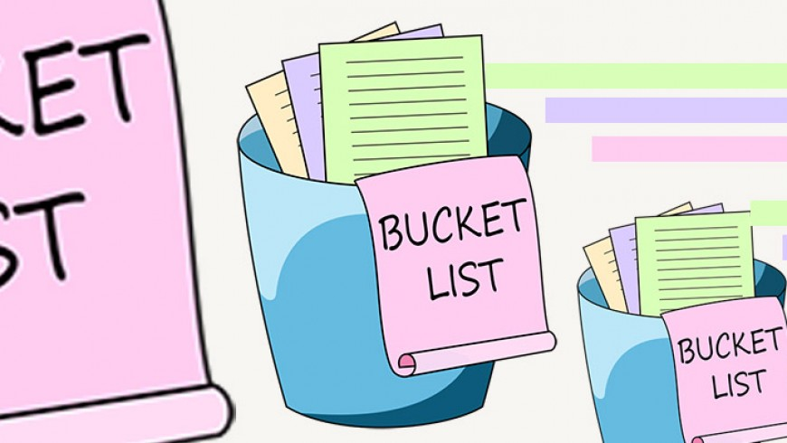 Let's plan our summer with this Bucket List! Activity based NUDGE!