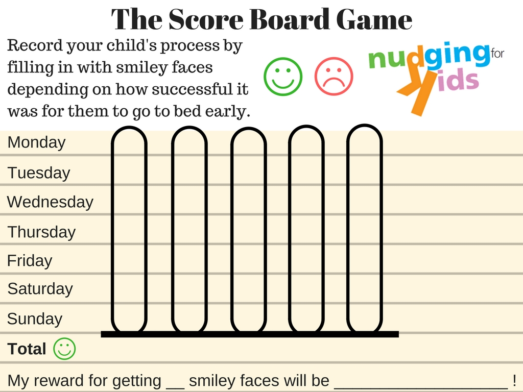 Score Board Game Nudge