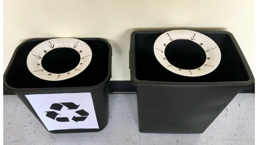 The Recycling Game Nudge