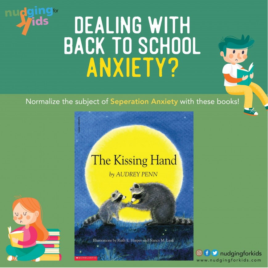 Making School an Easy Ride Anxiety in Toddlers & Preschoolers -PART I