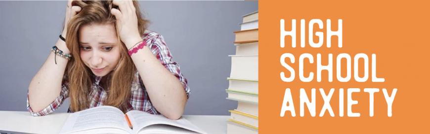 Making School an Easy Ride – Anxities in High Schoolers- Part III
